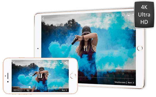 4K Ultra HD Playback (FREE) | iOS (iPhone / iPad) | CnX Player