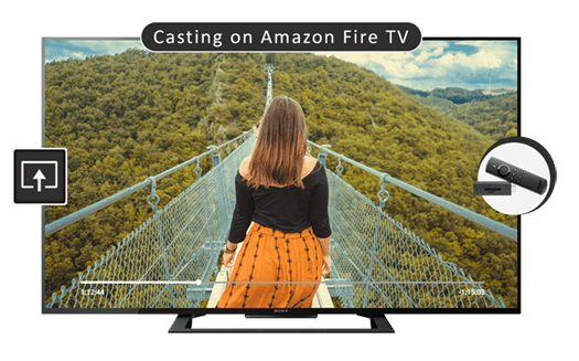 Amazon FireTV Video Casting | iOS (iPhone / iPad) | CnX Player
