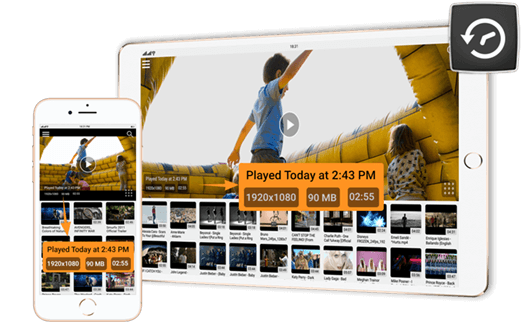History | iOS (iPhone / iPad) | CnX Video Player