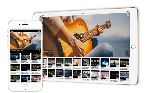 Quick Access to videos | iOS (iPhone / iPad) | CnX Player