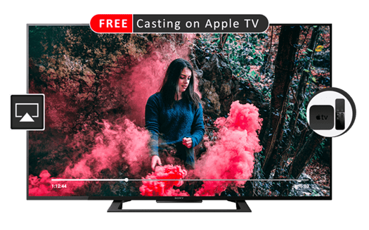 Video Casting on Apple TV(FREE) | iOS (iPhone / iPad) | CnX Player