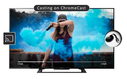 Video Casting on ChromeCast | iOS (iPhone / iPad) | CnX Player